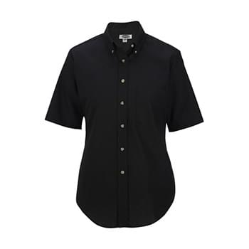 Women's Easy Care Short Sleeve Poplin Shirt