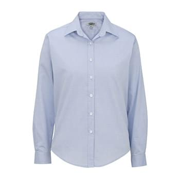Women's Long Sleeve Pinpoint Oxford Shirt