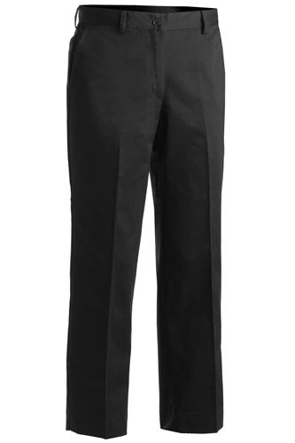 Women's Microfiber Easy Fit Flat Front Pant